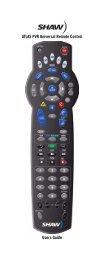 Atlas DVR 1055 Manual - Mediacom