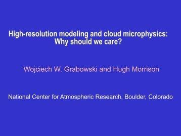 Wojciech W. Grabowski - NASA Global Modeling and Assimilation ...