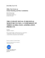 Document - NASA Global Modeling and Assimilation Office