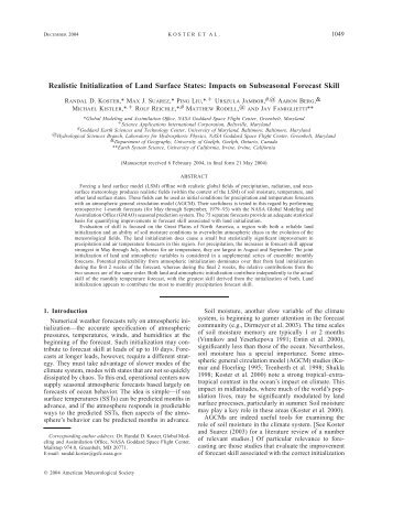 PDF (708 KB) - AMS Journals Online - American Meteorological ...