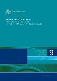 Empowering Change - Department of Innovation, Industry, Science ...