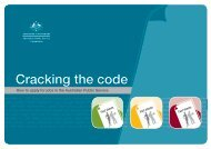 Cracking the code - Australian Public Service Commission