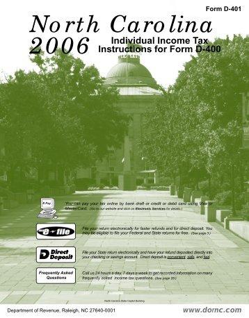 Free Form 2018 Nc D Form Free Form