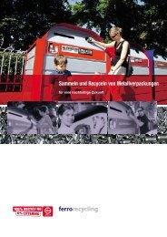 Sammeln und Recyceln von Metallverpackungen - Igora