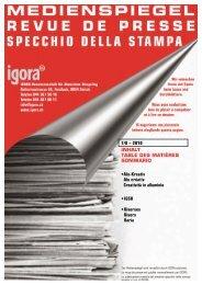 •Alu-Kreativ Alu créativ Creatività in alluminio • IGSU ... - Igora
