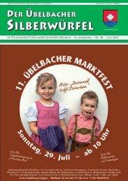 ssiilllbbbeeerrrwwwüüürrrfffeeell - Marktgemeinde Übelbach