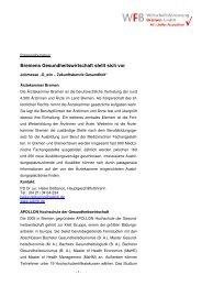 Kurzprofile unserer Aussteller - WFB Wirtschaftsförderung Bremen ...
