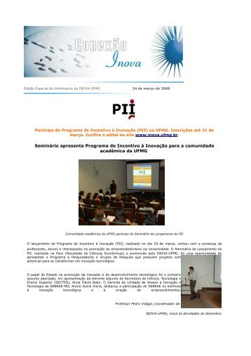Edição Especial - Ano III - 24 de março de 2009