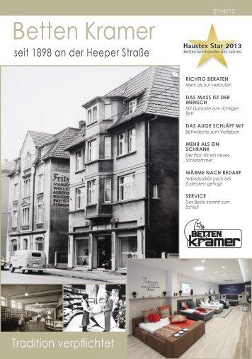 Betten Kramer Journal 2014/15