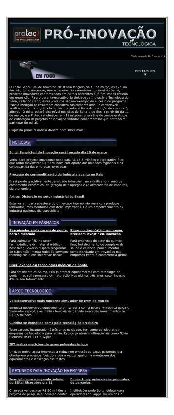 Informativo 09 - Ano 4 - Uece
