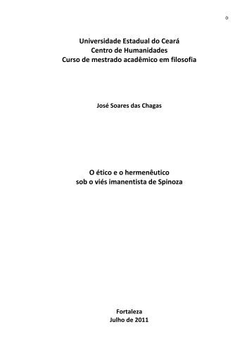 Universidade Estadual do Ceará Centro de Humanidades ... - Uece