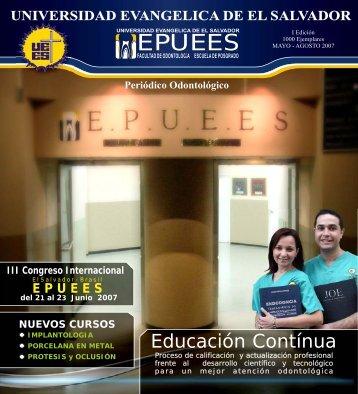 EPUEES - Universidad Evangélica de El Salvador