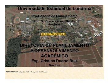 Diagnóstico (Agosto/2007) - Universidade Estadual de Londrina