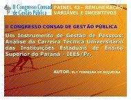 apresentação consad - Universidade Estadual de Londrina