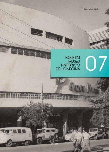 ISSN 2177-7365 - Universidade Estadual de Londrina