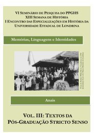 VOL. III: T - Universidade Estadual de Londrina