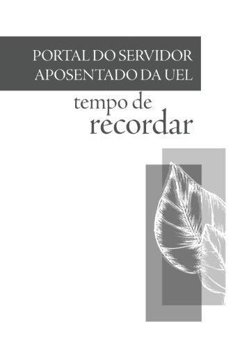 PORTAL DO SERVIDOR.indb - Universidade Estadual de Londrina