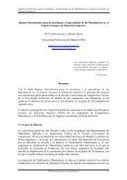 UN POCO DE HISTORIA - Universidad Europea de Madrid