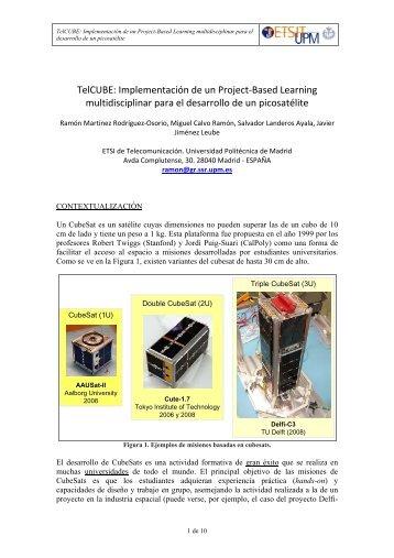 TelCUBE - Universidad Politécnica de Madrid