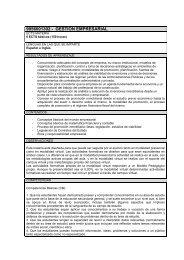 gestion empresarial - Universidad Europea de Madrid