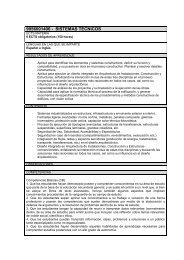 sistemas tecnicos - Universidad Europea de Madrid