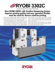 Product information: Ryobi 3302C - Ferrostaal Inc