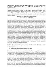 programa mentor - Universidad Europea de Madrid