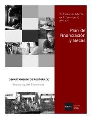 Plan de Financiación y Becas - Escuela de Estudios Universitarios ...