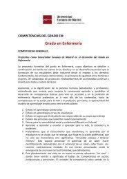 Más información - Universidad Europea de Madrid