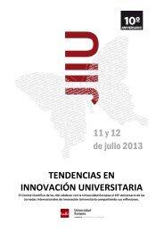 Jornadas Internacionales de Innovación Universitaria - Universidad ...