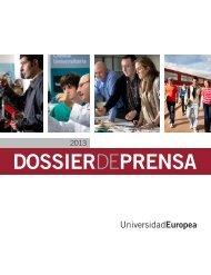 Dossier de PRENSA - Universidad Europea de Madrid