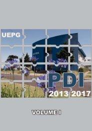 PDI 2013-2017 - Plano de Desenvolvimento Institucional V. I