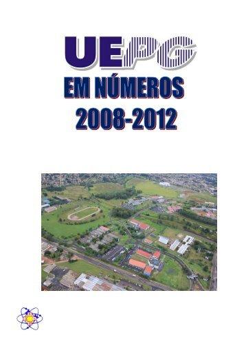Dados referentes aos anos de 2008 a 2012 - Universidade Estadual ...