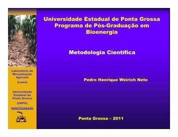 Universidade Estadual de Ponta Grossa Programa de Pós ...