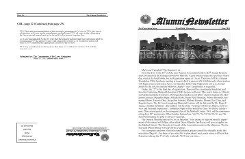 TheAlumniNewsletter - UERMMMC Alumni Foundation USA, Inc.