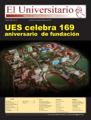 12 - Universidad de El Salvador