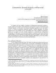 Centroamérica: desarrollo desigual y conflicto social 1870-1930 Las ...