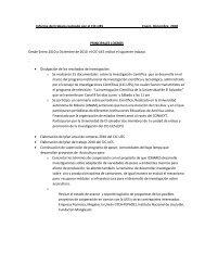 Informe del trabajo realizado por el CIC-UES Enero- Diciembre ...