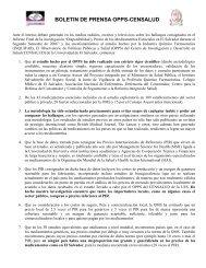 BOLETIN DE PRENSA - Universidad de El Salvador