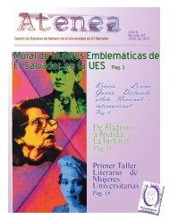 Mural de Mujeres Emblemáticas de El Salvador en la UES Pág. 3