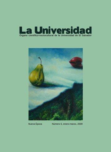 La Universidad - Universidad de El Salvador