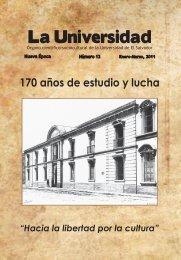 RLU 13 v2.indd - Universidad de El Salvador
