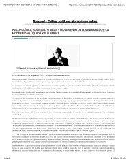 PSICOPOLÍTICA, SOCIEDAD SITIADA Y MOVIMIENTO DE LOS INDIGNADOS: LA MODERNIDAD LÍQUIDA Y SUS PARIAS.. Dr. Adolfo Vásquez Rocca