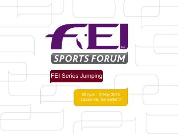 Outdoor Team FEI World Cup
