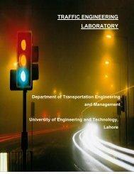 Traffic Engineering Lab. - University of Engineering & Technology ...