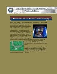 Printed Circuit Board Lab - University of Engineering & Technology ...