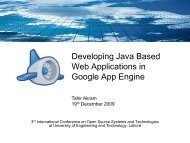 Developing Java Based Web Applications in Google App Engine