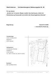 Stadt Uetersen _ Vorhabenbezogener Bebauungsplan Nr. 28
