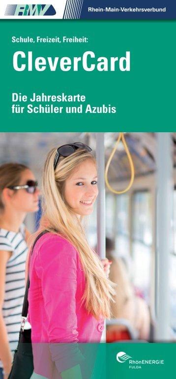 Broschüre CleverCard - RhönEnergie Fulda