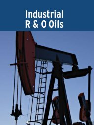 Industrial R & O Oils - UFA.com